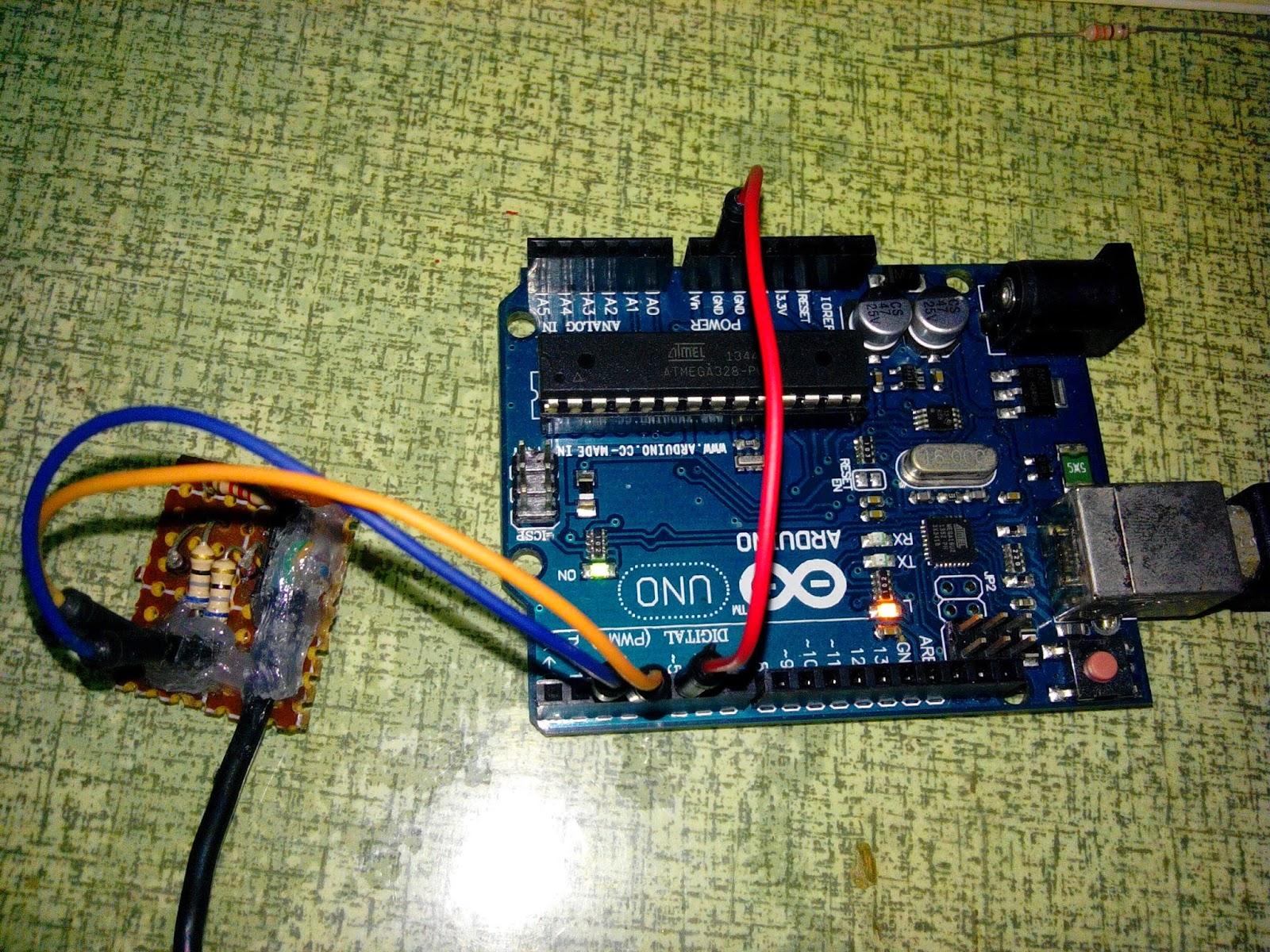 經驗值上升中☆ v usb joystick for arduino