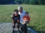 Grandpa (my Scott) with two of grandsons