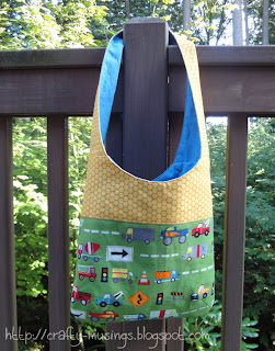 Mail Sack, front view