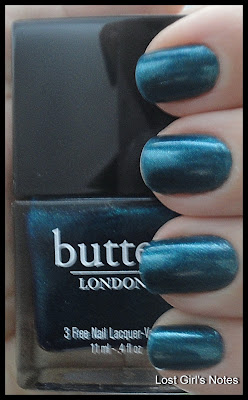 butter london bluey swatches