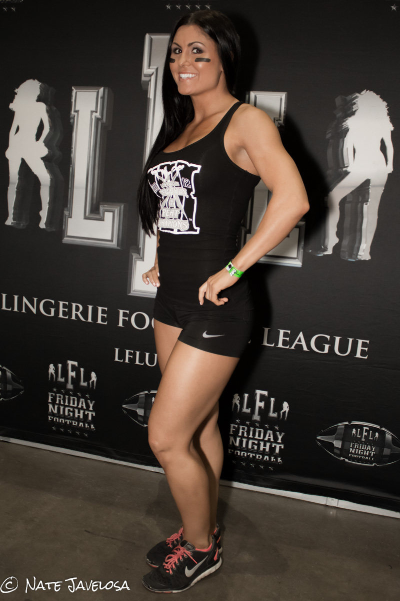 Nate Javelosa  The Fit Expo Los Angeles 2013  Women of the Gridiron