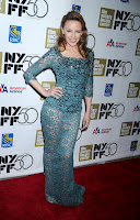 Kylie Minogue strikes a pose at 'Holy Motors' New York Premiere red carpet