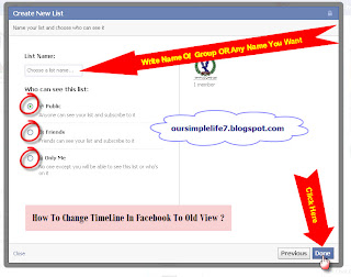 Our Life: How To Change Timeline In Facebook
