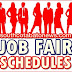 Job Fair Schedules from DOLE-12