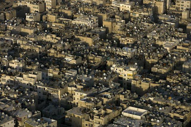 Antenas Parabólicas en Damasco - Siria