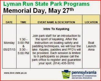 5-27 Lyman Run State Park