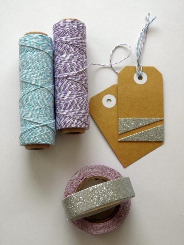 Pocket Carnival Glitter Tape + Baker's Twine