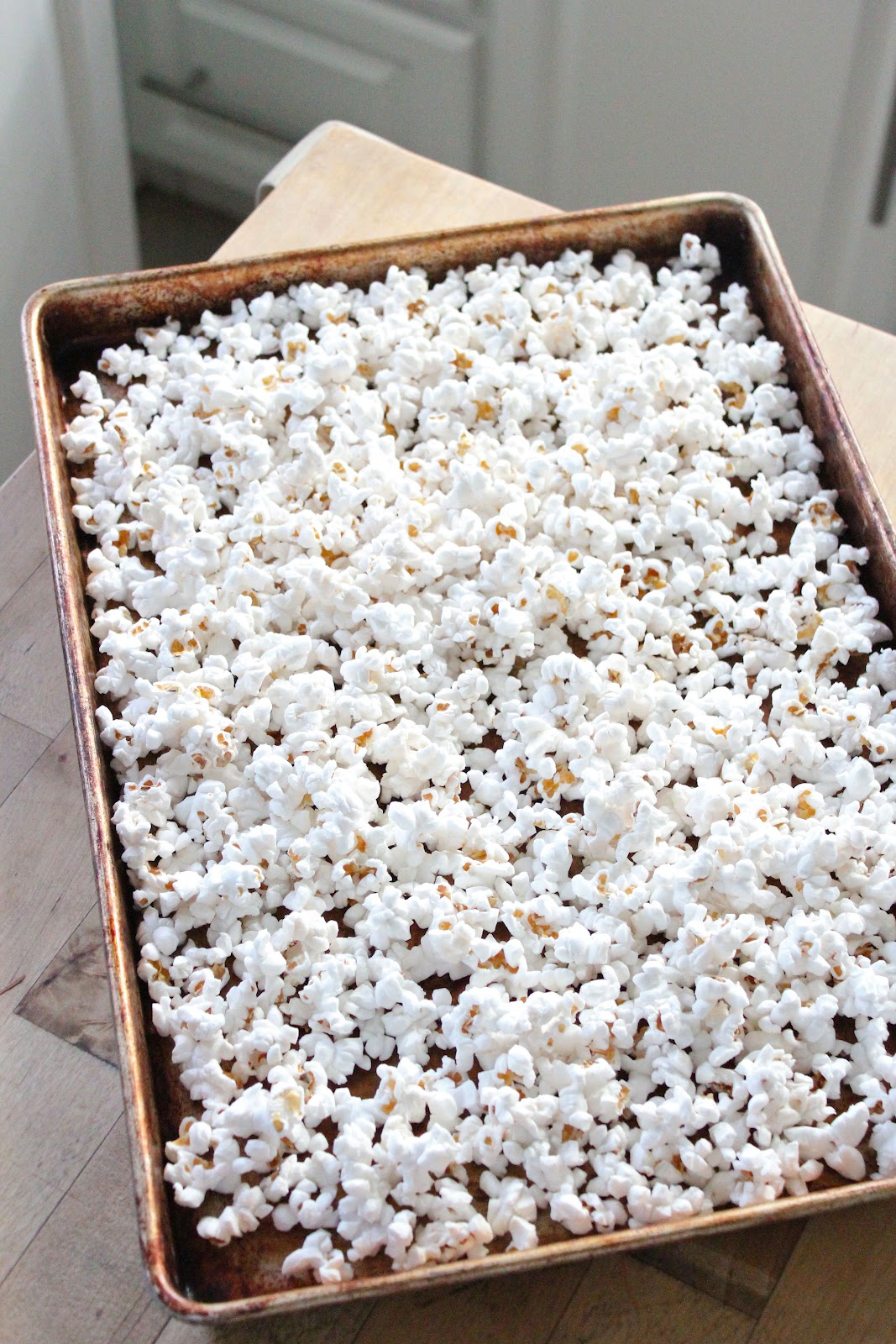 White Chocolate popcorn | Eat Good 4 Life