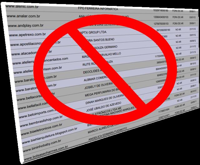Procon-SP divulga lista com mais de 200 sites que devem ser evitados na hora de comprar pela internet