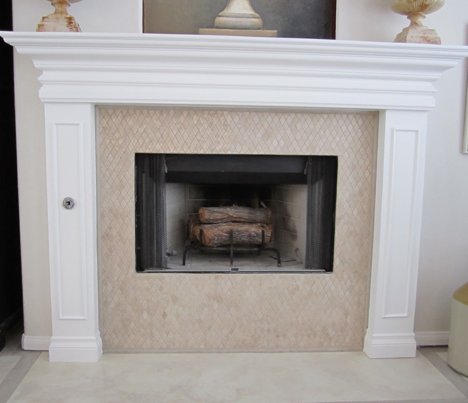 anythingology fireplace makeover 2 it u0027s finally finished