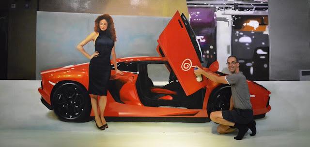 Trick Eye Museum car
