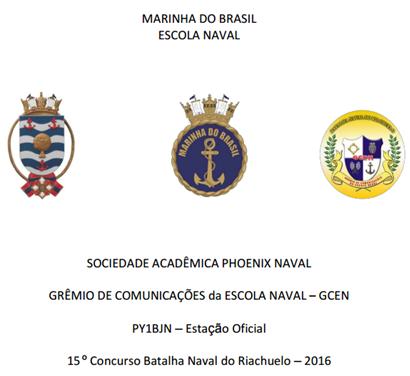 15º CONCURSO BATALHA NAVAL DO RIACHUELO