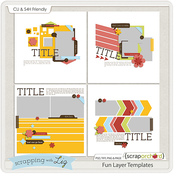 http://scraporchard.com/market/Fun-Layer-Digital-Scrapbook-Templates.html