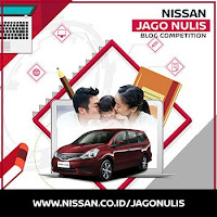 Nissan Jago Nulis Blog Competition