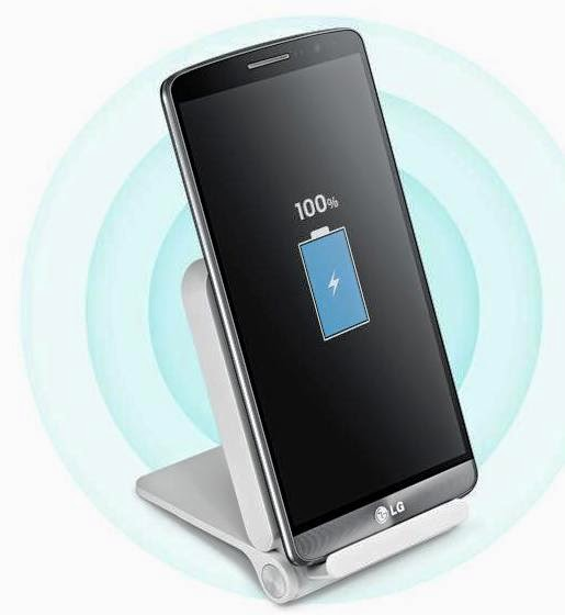 Wireless Charging LG G3 - Berita Gadget
