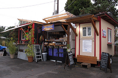 Food carts have become one of the main attractions in Portland