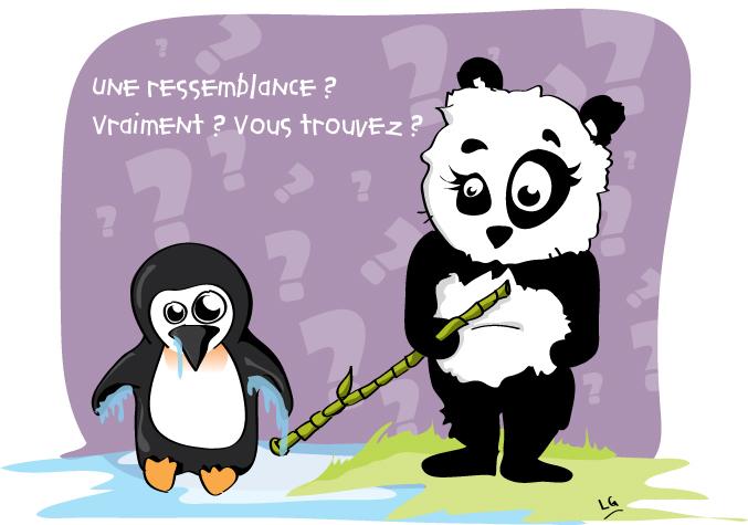 penguin - panda