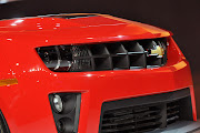 2012 Chevrolet Camaro ZL1 Grill View (chevrolet camaro zl grill view)