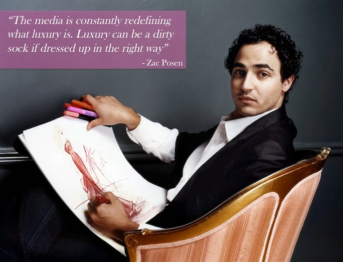 Zac Posen fashion quote