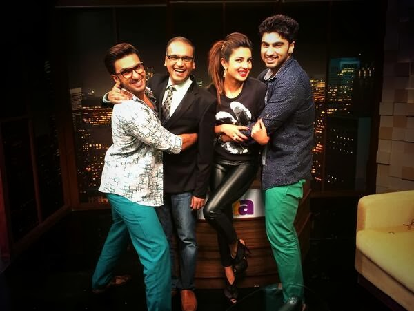 Ranveer, Arjun & Priyanka to discuss Gunday with Komal Nahta