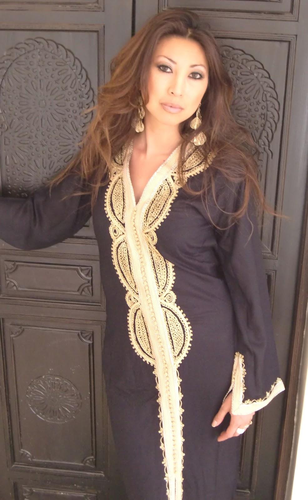 Maison marrakech caftans maison de marrakech - Robe de maison simple ...
