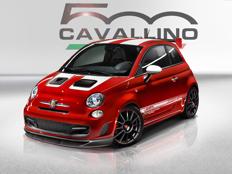 nouvelle cavallino fiat 500 abarth edition de lancement. Black Bedroom Furniture Sets. Home Design Ideas