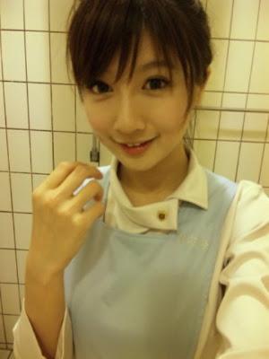 正妹護士 大C洋 - 台北醫學大學正妹護士LuGo(大C洋)