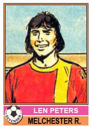 Len Peters - Melchester Rovers, Topps 1977