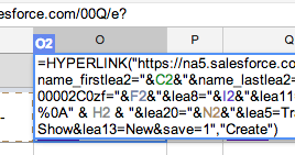 Creating a New Salesforce Record with One Click: Passing URL Parameters from Google Form Responses