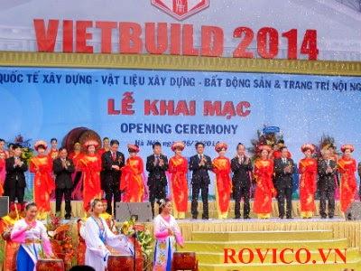 Khai mạc triển lãm VIETBUILD Hà Nội 2014