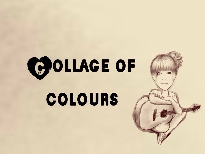 collage of colours