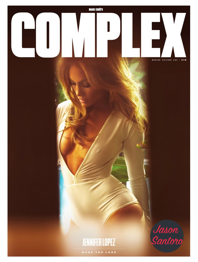 Jennifer Lopez shows off her assets for 'Complex' magazine.