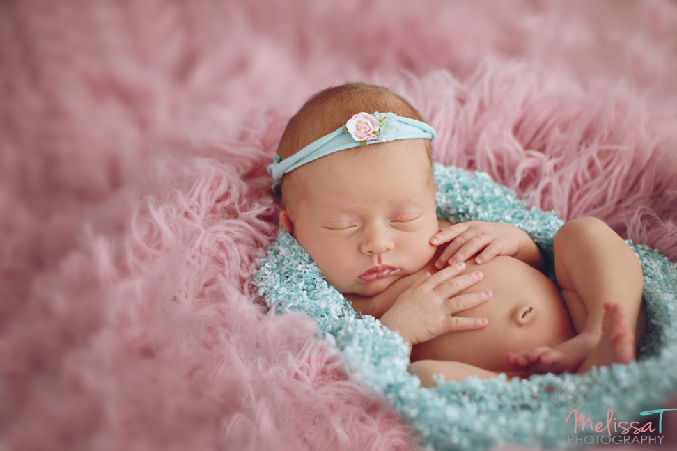 Melissa t photography beautiful alyssa is 9 days new this little angel slept the entire session