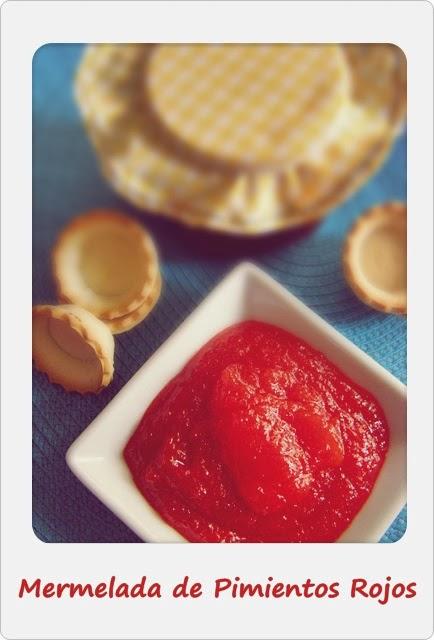 Endulzando la vida entras mermelada de pimientos rojos - Como hacer mermelada de pimiento ...
