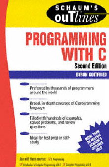 Programming with C - Byron S Gottfried