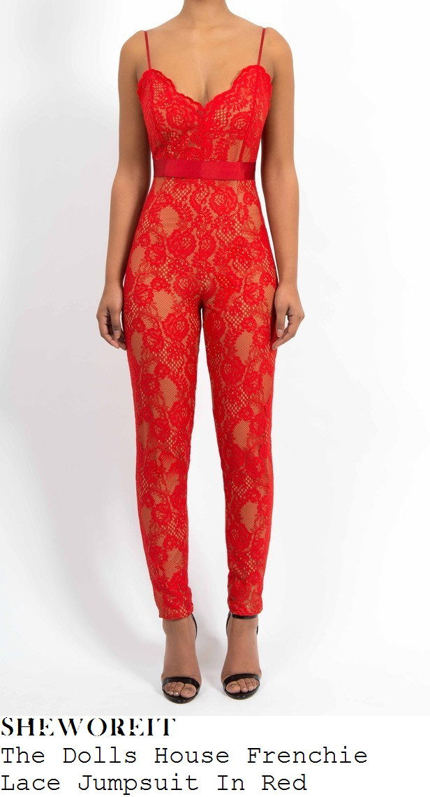 sam-faiers-bright-red-floral-lace-sleeveless-jumpsuit-christmas-eve