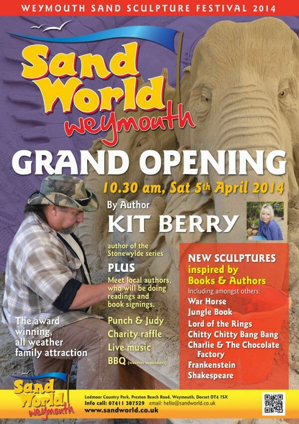 Sandworld 2014 Grand Re-opening Weymouth Saturday 5th April 2014