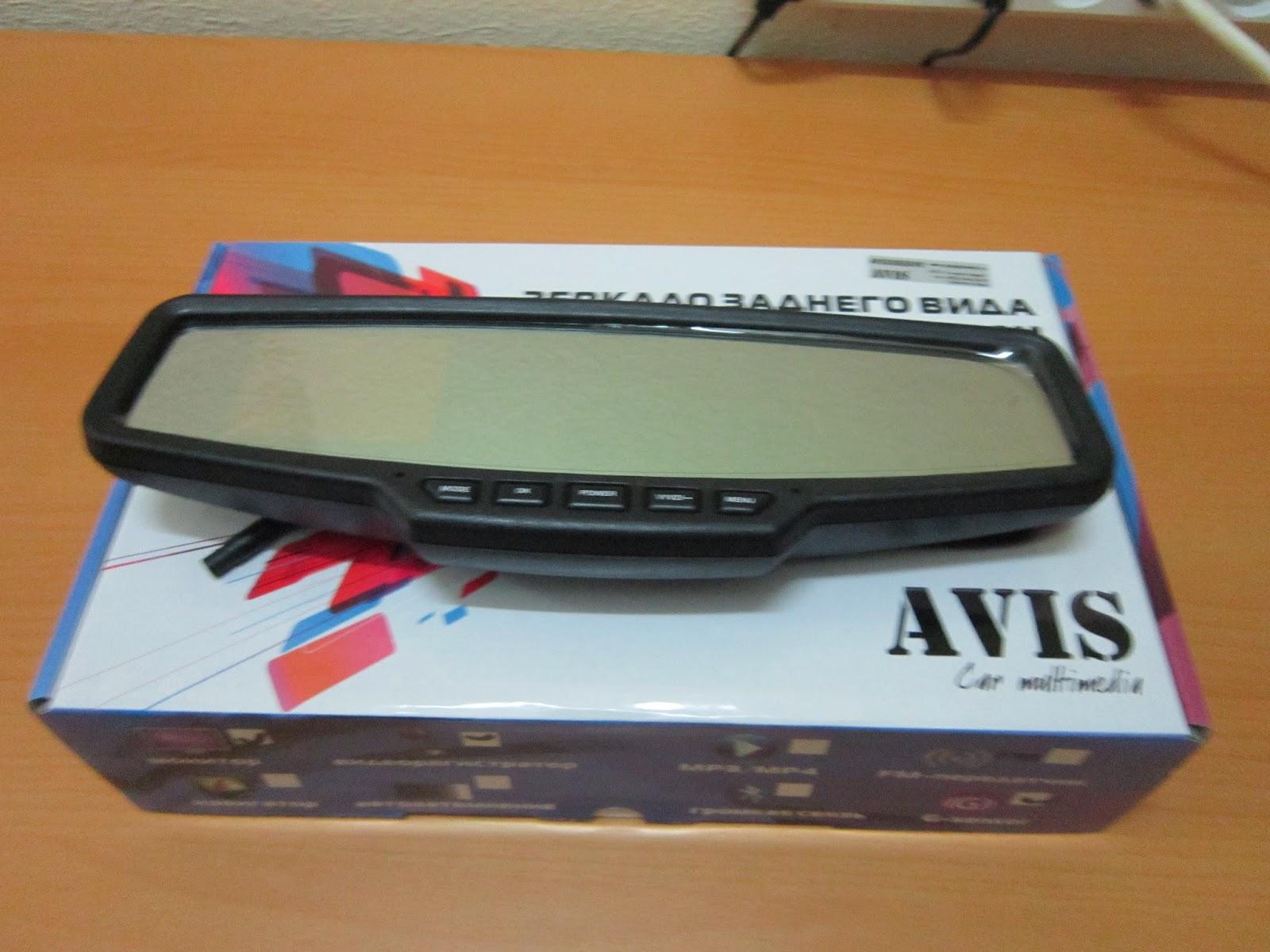 зеркало с видеорегистратором avs0355dvr