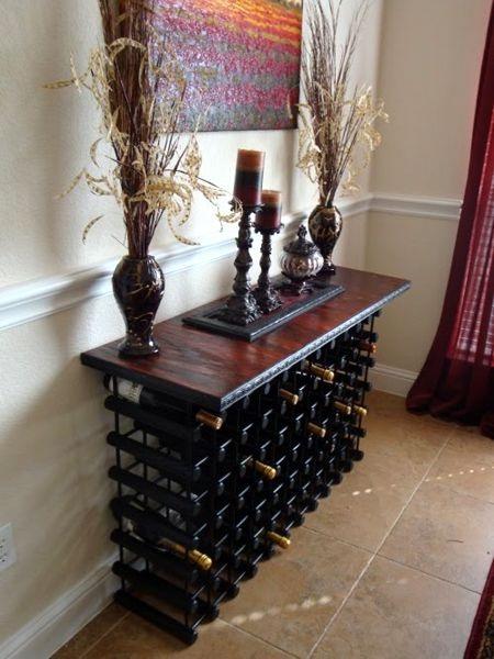 Decora y disena 23 estantes y muebles para vinos y otros - Estantes para vinos ...