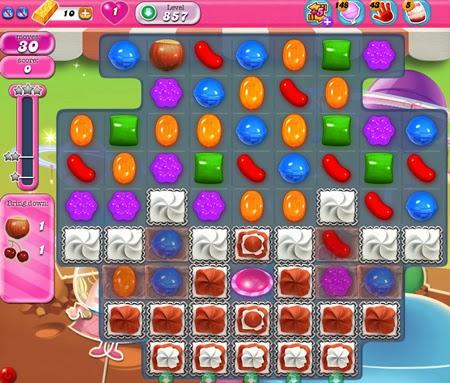 Candy Crush Saga 857