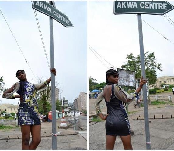 Leila Mathel - Koloba Paris - Douala - Shooting - Les Marches d'Elodie