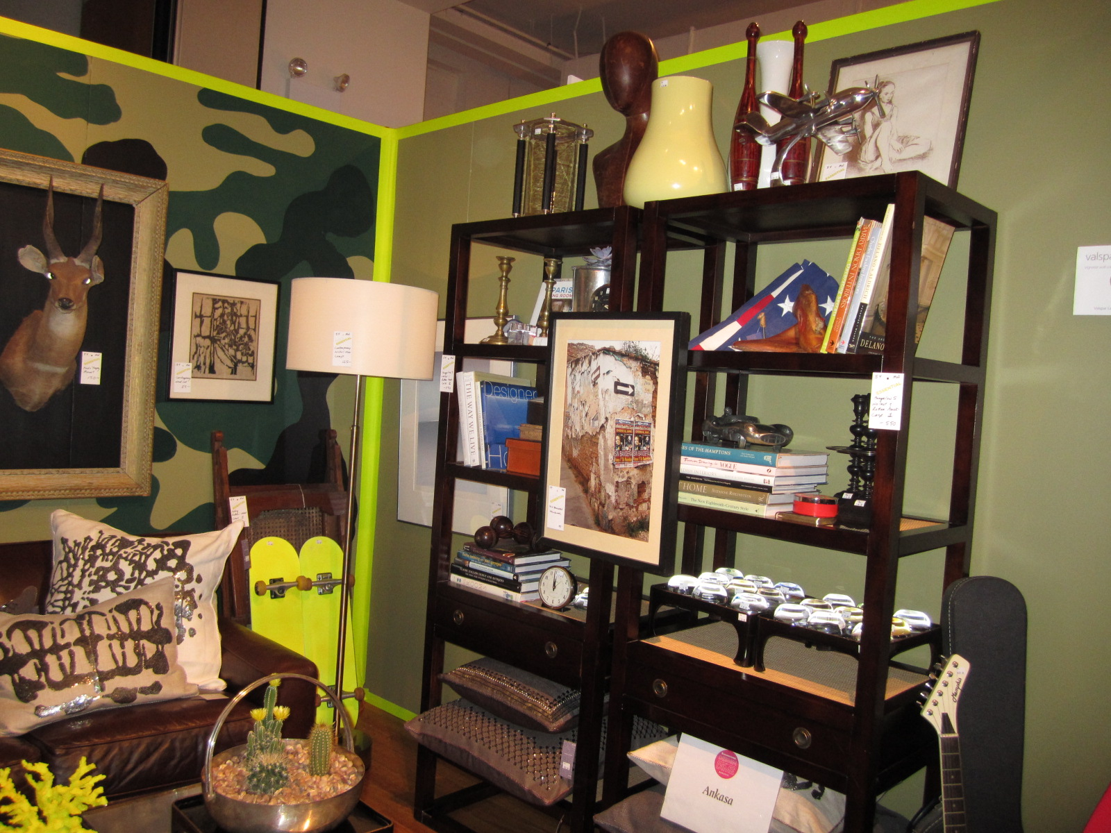 They Had A Trove Of John Derian Paperweights To Rival His Store, And Worked  With Housing Works Donations.