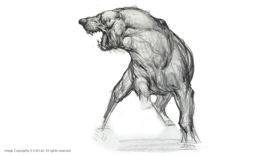 Creature And Character Design Concept Sketching With Sang Jun Lee : Killer ang lee hulk dog concept art by sang jun and