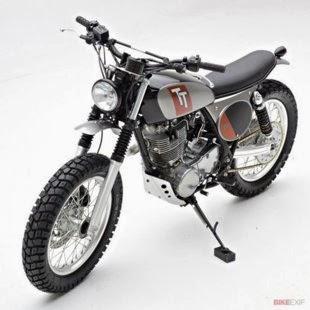 Foto Yamaha SR400 Modifikasi 2014 Terbaru