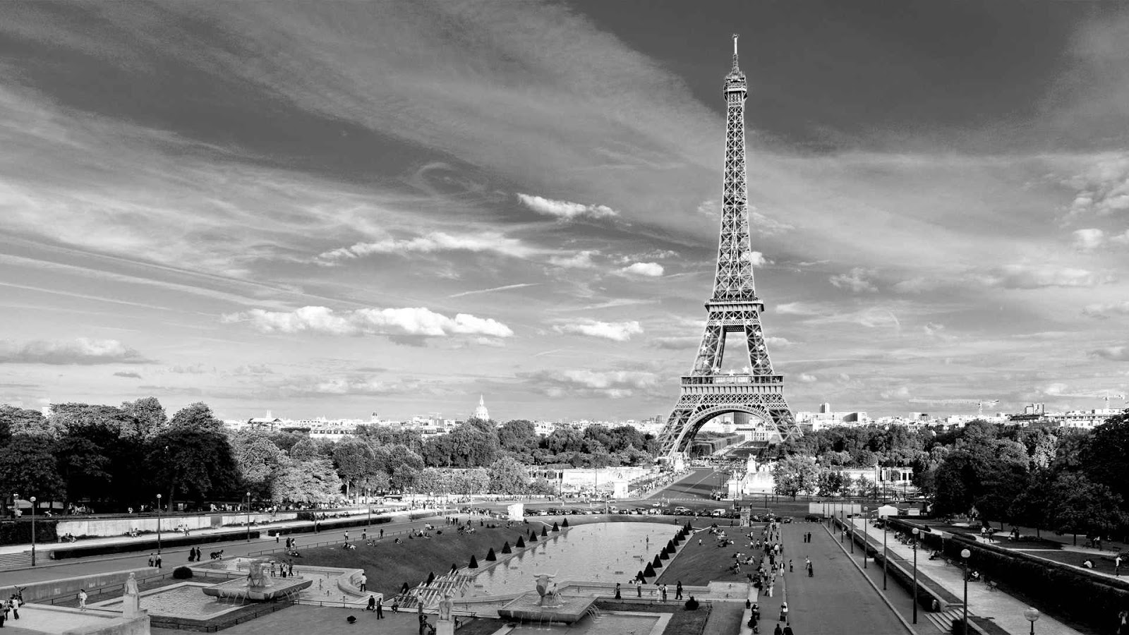 Paris Black And White Black And White Photography