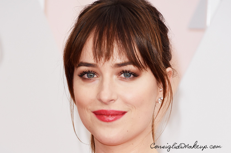 Academy Awards Dakota Johnson as Anastasta Steele