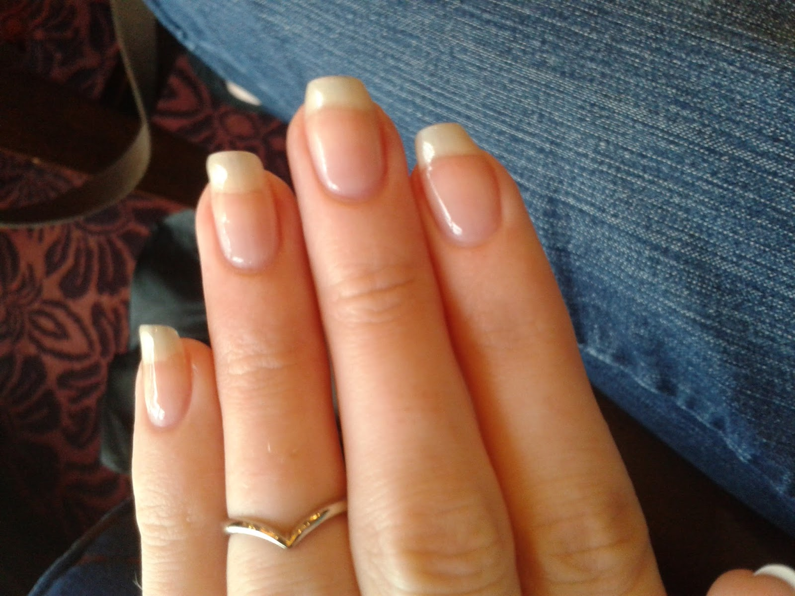 The Little Blog of Beauty: Clear gel nails