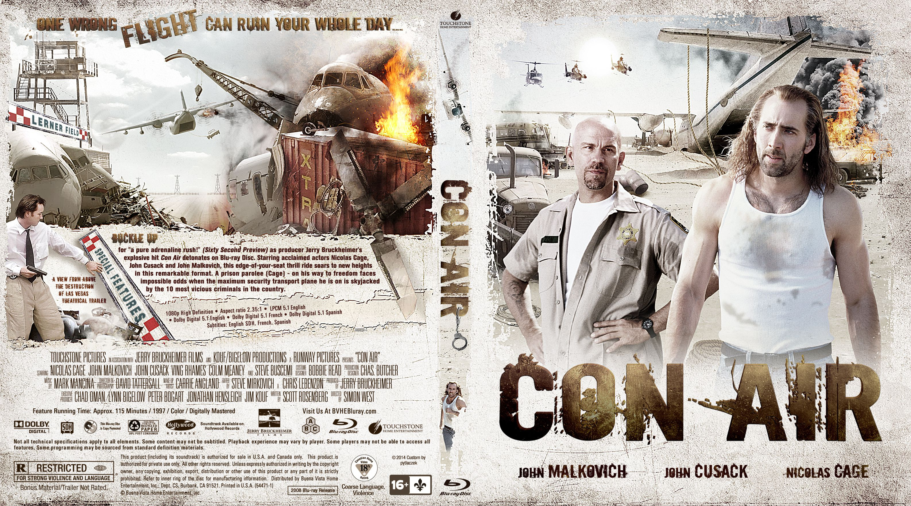 Capa Bluray Con Air