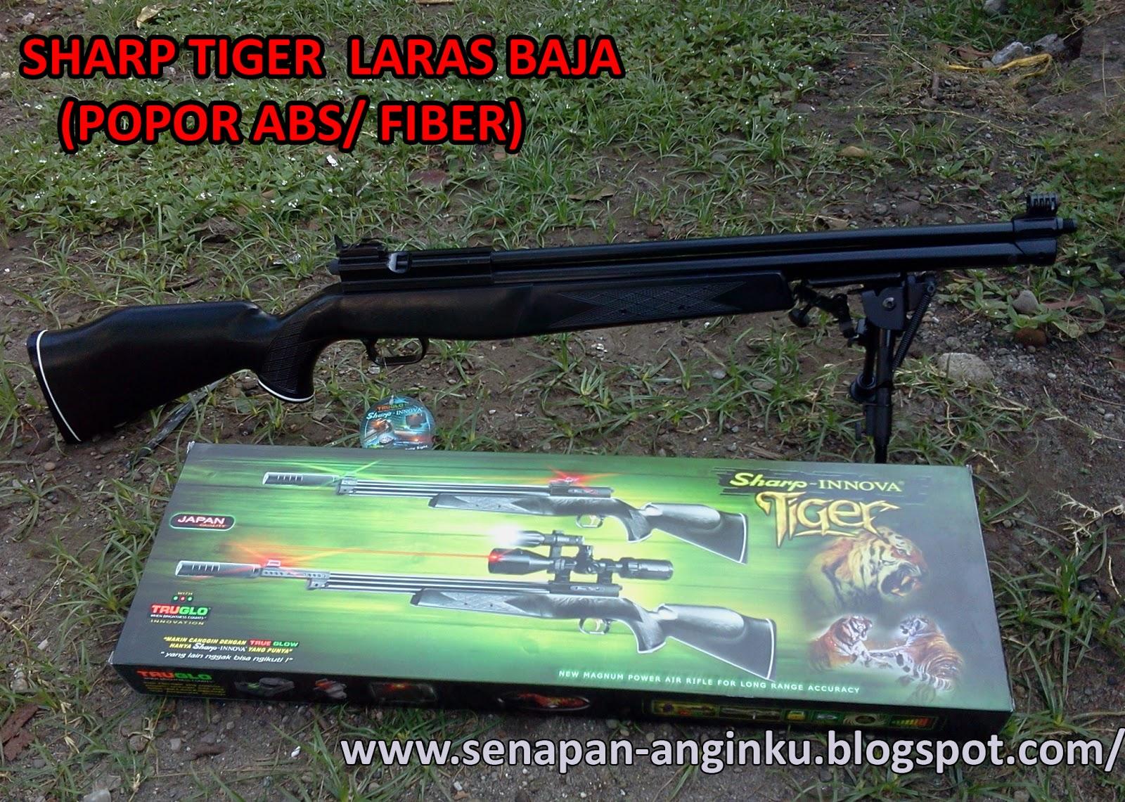 Sharp Tiger Laras Baja Popor Abs   Fiber