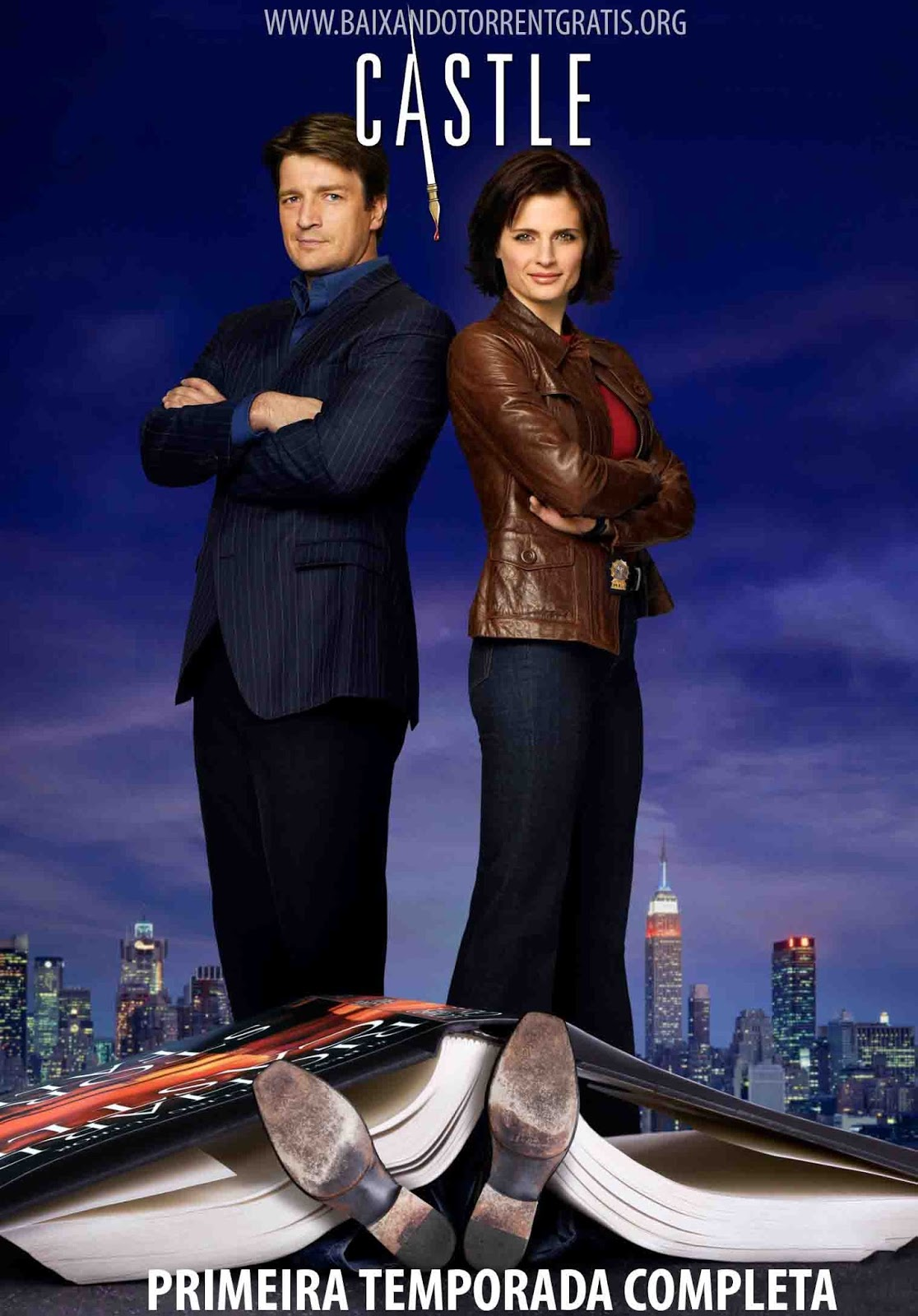 Castle 1ª Temporada Torrent - BluRay 720p Dublado
